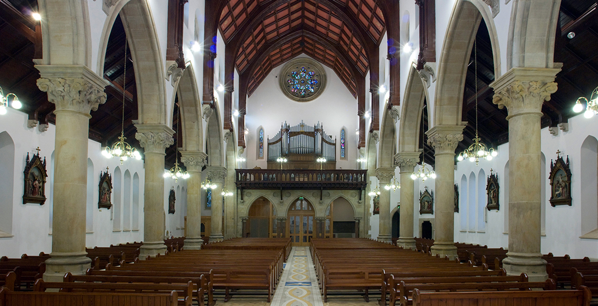 Refurb of St Patricks Dungannon Interior